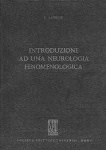introduzione ad una neurologia fenomenologica
